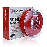 Filatech 3D Printing FilaFlexible40 Filament, 1.75 mm +/- 0.03 mm, 1.0 Kg Spool, 100% Virgin Material, Made in UAE (Blue)