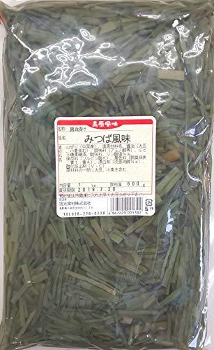 みつば 風味 ( 醤油漬け ) 1kg ( 固形600g )×15P 業務用 山ぜり