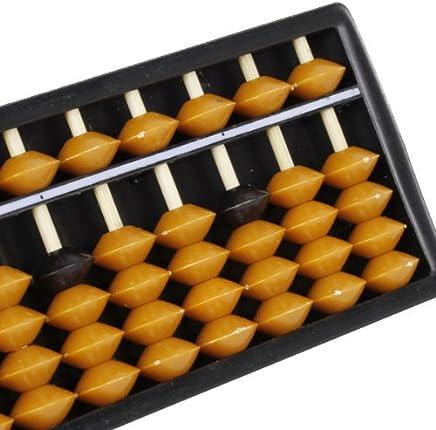 Mini Abaque Arithmétique Soroban en Plastique Outil de Calcul 15 Chiffres