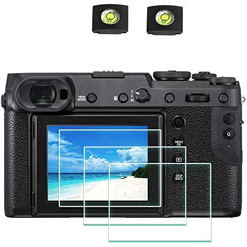 Displayschutzfolie Schutzfolie für Fujifilm GFX 50R 50S Fuji GFX50S GFX50R Kamera & Blitzschuhabdeckung Zubehör,ULBTER 9H Härte LCD Gehärtetes Glas Kratzfest Anti-Fingerabdruck,3 Stück