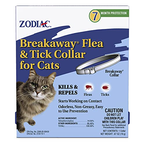 Zodiac Breakaway Flea and Tick Collar