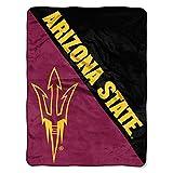 The Northwest Company Arizona State Sun Devils 'Halftone' Micro Raschel Throw Blanket, 46' x 60' , Red