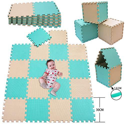 MSHEN Alfombra Puzzle para Niños Bebe Infantil
