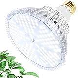 MILYN Lampada per Coltivazione Indoor 100W Lampada per Piante Spettro Completo LED Grow Light per Grow Box/Idroponica/Serra/Interno Semina, Veg, Fiore, Crescita (W-150LEDS)