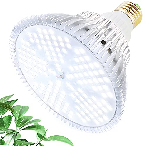 MILYN LED Grow Light Bulb 100W Daylight Full Spectrum Plant Growth Lamp 150 LEDs Plant Lights, E27 Grow Lights for Indoor Plants, Hydroponic Growing Greenhouse Succulents Veg and Flower