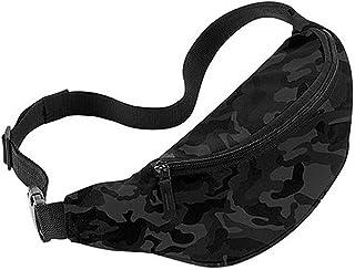 Bagbase Adjustable Belt Bag (2.5 Litres) (UK Size: One Size) (Midnight Camo)