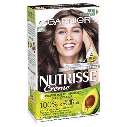 Garnier Nutrisse Permanent Hair Colour 4 Tamarind Dark Brown