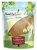 Organic Alfalfa Sprouting Seeds, 1 Pound - Non-GMO, Kosher, Raw, Vegan, Bulk