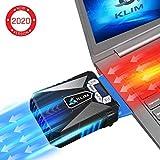 KLIM Cool Refroidisseur - PC Ventilo Portable Gamer - Ventilateur Haute Performance pour...