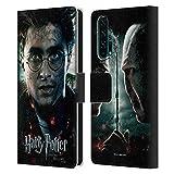 Head Case Designs Officiel Harry Potter Potrait Deathly Hallows VIII Coque en Cuir à Portefeuille...
