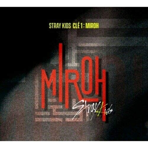 STRAY KIDS - [Cle 1:Miroh Normal Album CD+1p Poster+PhotoBook+3p QR PhotoCard+1p Postcard+Extra PhotoCard Set+Tracking K-POP Sealed