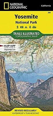 Yosemite National Park (National Geographic Trails Illustrated Map, 206) from National Geographic Maps