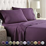 Hotel Luxury Bed Sheets Set Today! On Amazon Softest Bedding 1800 Series Platinum Collection-10…