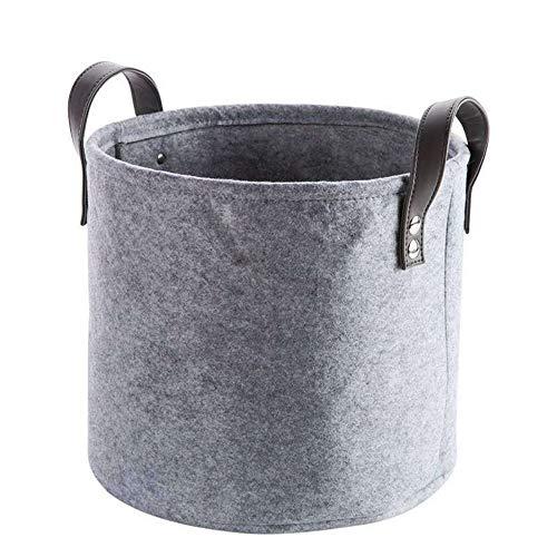 JOMSK Cesta de lavandería Grande para Dormitorio Sentía el Juguete de Almacenamiento de lavandería Cesta de la Ropa Ropa Cesta del almacenaje de la Cesta Los niños del hogar Plegable Grande