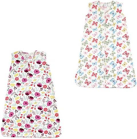 Touched by Nature Baby Organic Cotton Sleeveless Wearable Sleeping Bag Sack Blanket Botanical product image