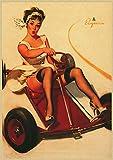 Póster De Pintura En Lienzo, Pinup Girls N. ° 2, Imágenes Artísticas De Pared De La Segunda Guerra Mundial, Decoración Sin Marco Para El Hogar, Impresiones Artísticas Quadro Cuadros K387(40X50Cm)