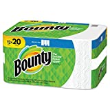 Bounty Select-A-Size 2-Ply Paper Towels, 11' x 5-15/16', White, Pack of 12 Mega Rolls