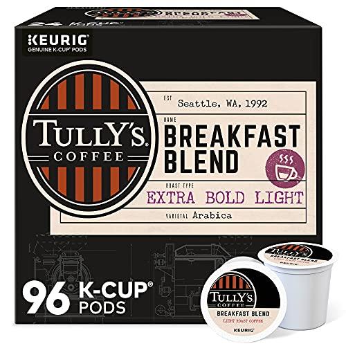 Tully's Coffee Breakfast Blend, Keurig...