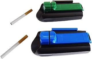 Cigarette Tobacco Injector Single Tube Filling Rolling Roller Maker Machine 2 Pack