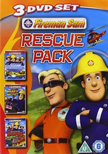 Fireman Sam - Rescue Pack (Triple Pack) [2012] [DVD] [UK Import]