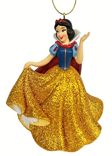 Snow White - in Golden Dress (Princess) Figurine Holiday Christmas Tree Ornament - Limited Availability - New for 2018