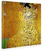 Giallobus - Cuadro - Impresion EN Lienzo - Gustav Klimt - Portrait of Adele Bloch-Bauer I -70 x 70 CM