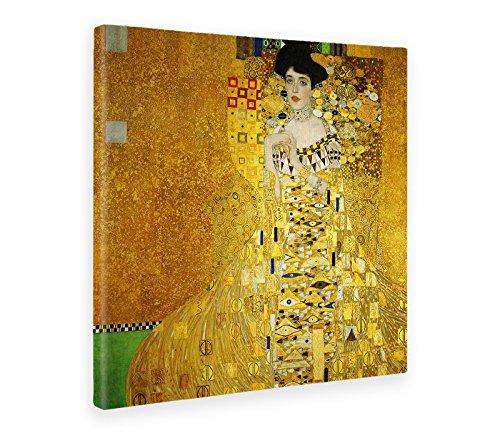 Giallobus - Cuadro - Impresion EN Lienzo - Gustav Klimt - Retrato DE Adele Bloch-Bauer I - 50 x 50 CM