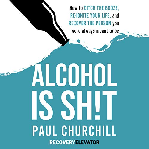 Alcohol is Sh!t audiobook cover art