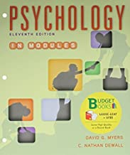 Loose-leaf Version for Psychology in Modules 11e & LaunchPad for Myers' Psychology in Modules 11e (Six Month Access) by Myers, David G., DeWall, C. Nathan (July 1, 2015) Paperback