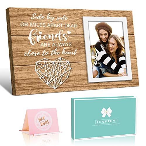 Friend Picture Frame Gifts for Friend, Long Distance Friendship Gifts for...