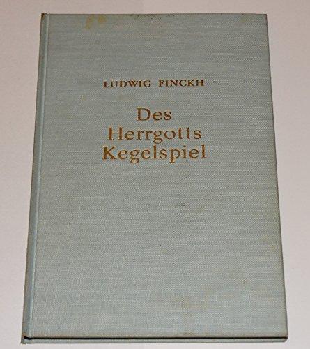 Des Herrgotts Kegelspiel. Schönes Land im Hegau.