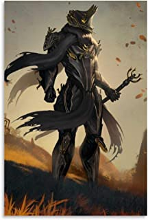 NIUASH Warframe Excalibur Umbra Place Anime AE Poster Decorative Painting Canvas Wall Art Living Room Posters Bedroom Pain...