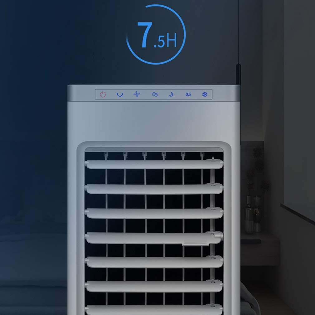 Gcxlfj Ventilador De Aire Acondicionado con Mando A Distancia ...