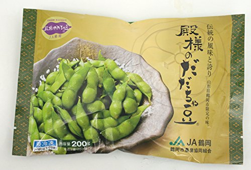 やさい 山形県鶴岡市 殿様のだだちゃ豆(冷凍)200g×25袋