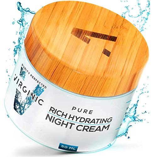 518 6F1qEPL - Night Face Cream | New Nano Science in Anti Aging | Nano Purity - The Most Biologically Pure & Potent Product on the Market | Nano Particles Work on Deepest Skin Layers | V Limited Edition