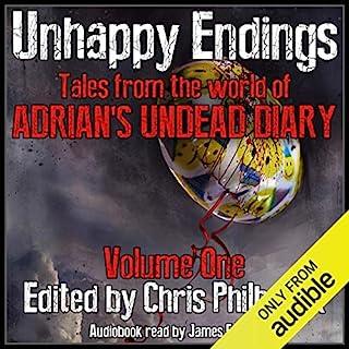 Unhappy Endings audiobook cover art