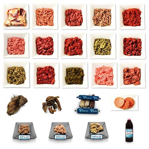 Frostfutter Perleberg Barf Hundefutter 25kg Ferienpaket für Hunde