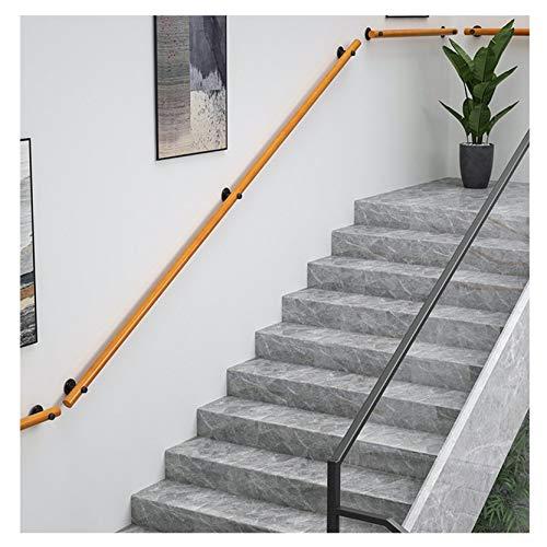 Handläufe MAZHONG rutschfeste Innenräumen Moderne Einfachheit Treppenhandlauf Für Pflegeheime, Schulen, Häuser, Gärten Massivholz Treppengeländer(Size:50cm)