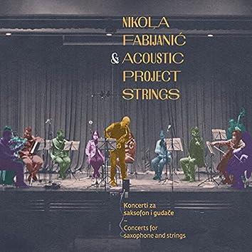Koncerti Za Saksofon I Gudače / Concerts For Saxophone And Strings