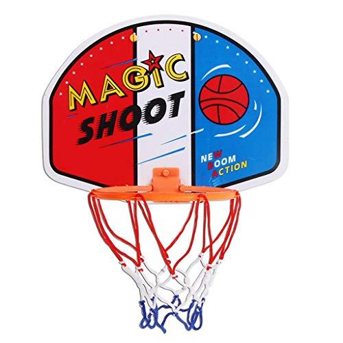 Baloncesto Tablero y Conjunto de Aros Baloncesto Interior Netball Hoop Mini Tablero de Baloncesto Niños Regalos (Color : D)