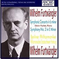 フルトヴェングラー指揮 ピアノと管弦楽のための交響的協奏曲