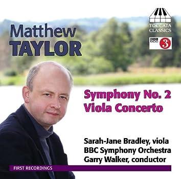 Taylor: Symphony No. 2 / Viola Concerto