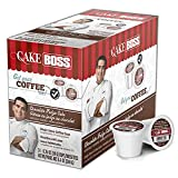 Get YOUR coffee on! Inspired by TLC's hit series Cake Boss. Whatever your taste, the boss has you covered! Flavored medium roast 100% Arabica coffee Compatible with Keurig original and Keurig 2.0 K-Cup Brewing systems