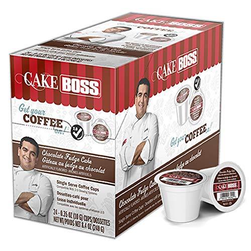 Cake Boss Coffee Chocolate Fudge Cake 24 Count 84 OZ