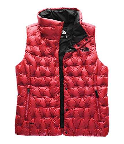 The North Face Women's Holladown Crop Vest, TNF Red, XS