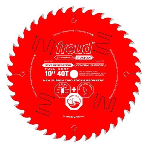 Freud 10″ x 40T Premier Fusion