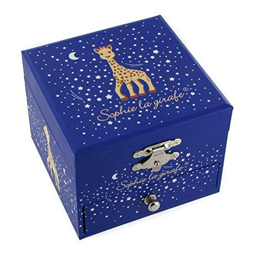 Lutèce Créations - Caja musical de madera/caja musical para joyas trousselier con Sophie la jirafa (Ref: 20-161) – La Valse d'Amélie Poulain – El Fabuloso destino de Amélie Poulain (Yann Tiersen)