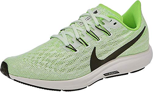 Nike Air Zoom Pegasus 36, Zapatillas de Correr Hombre, Verde (Phantom/Ridgerock/Electric Green/Moon Particle 003), 44.5 EU