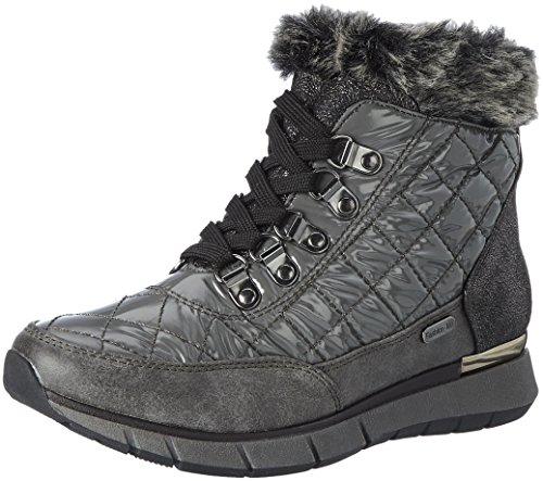 Marco Tozzi 26282, Botas de Nieve para Mujer, Gris (Dk.Grey Comb), 40 EU