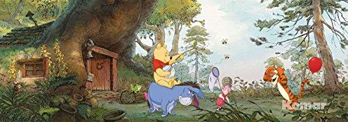 Winnie l'ourson House – Disney – Wall Paper – Papier Peint Photo Mural 368 x 127 cm – 4 pièces. clos sont une Contenu du Colle et une klebea nleitung.